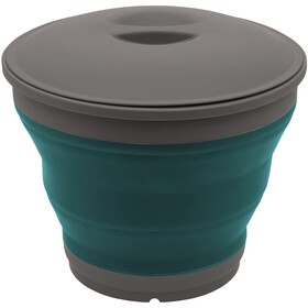 Outwell Collaps Bucket with Lid deep blue
